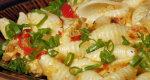 Dynia z makaronem i kurczakiem - danie na szybko