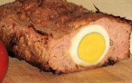 Dietetyczny klops z jajkiem
