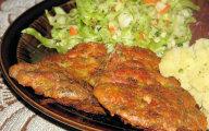 Kotleciki z filetu kurczaka i majonezu