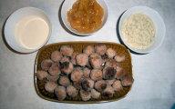 Pikantne kuleczki z r�nymi sosami