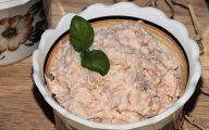 Pasta z serk�w topionych i �ososia
