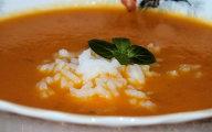 Pomara�czowa zupka z ry�em