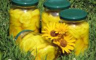 Słońce na zimowym stole - czyli ogórki z kurkumą