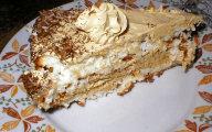 Tort kokosowo-kawowy
