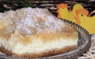 Wielkanocny mi�ciutki sernik na krucho-cha�wowym spodzie