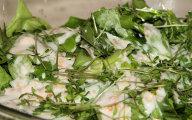 Zielona sa�ata w ma�lankowym sosie - sur�wka dla diabetyk�w