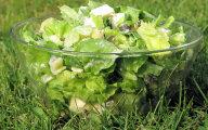 Zielona sa�ata w towarzystwie sera Feta i papryki sto�kowej