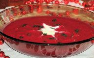 Zupa krem z czerwonych burak�w