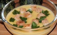 Zupa krem ziemniaczano-dyniowy z grzankami