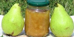 Aromatyczny dżem z gruszek