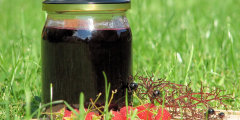 Aromatyczny sok z czarnego bzu i malin