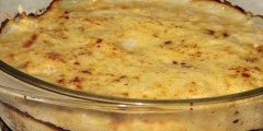 Bia�e szparagi zapiekane w serowym sosie