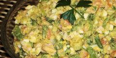 Dietetyczna sa�atka z fasolk� szparagow�