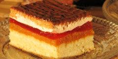 Kruche ciasto z dynią i galaretką