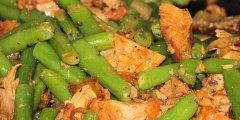 Kurczak na ostro z fasolk� szparagow�