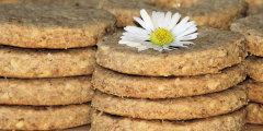 Orkiszowo-orzechowe ciasteczka
