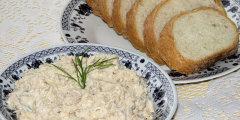 Pasta makrelowo - serowa