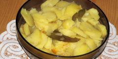 Pieczone ziemniaki wigilijne