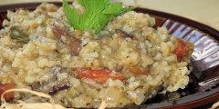 Potrawka ry�owa z grzybami