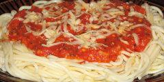 Pyszne spaghetti