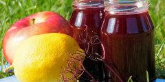 Rozgrzewaj�cy syrop winogronowy z dodatkami