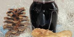 Rozgrzewaj�cy syrop z owoc�w czarnego bzu i imbiru