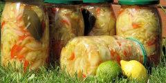 Sałatka ogórkowa z papryką na słodko-kwaśno