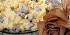 Sałatka z kurczaka i fasoli