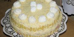 Tort rafaello z konfitur� wi�niow�