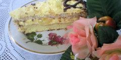 Tort kokosowy z ananasem