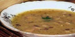 Ziemniaczana zupa z dyni i w�dzonego boczku