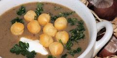 Zupa krem ze �wie�ych grzyb�w