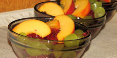 Deser - galaretka z owocami