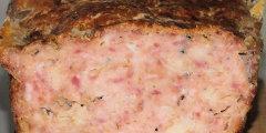 Klops z mięsa wieprzowego i drobiowego