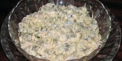 �ledziowa sa�atka z kie�kami soi