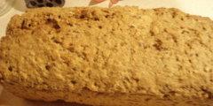 Chleb pszenno-�ytni ze s�onecznikiem i siemiem lnianym (metod� domow�)