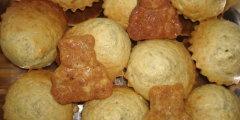 Muffiny z bananami