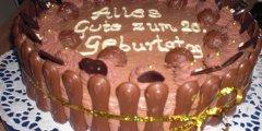 Tort czekoladowo-nugatowy