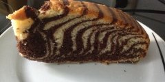 Babka Zebra, kakaowo-migda�owa