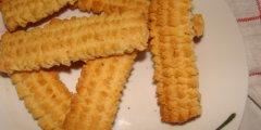 Ciasteczka przepuszczane przez maszynkę do mięsa