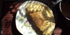 Quesadillas z kurczakiem, serem i kukurydzą