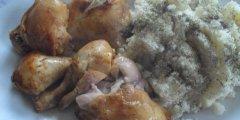 Miodowy kurczak
