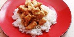 Kurczak w sosie Zielone Curry