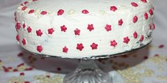 Tort makowo-�mietanowy