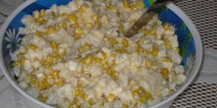Ananasowo-czosnkowa sałatka