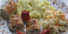 Roladki drobiowe z mozzarell�