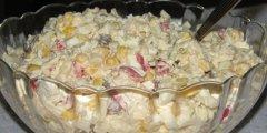 Sałatka z kalafiorem na słodko