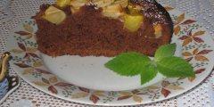 Szybkie ciasto czekoladowe z owocami