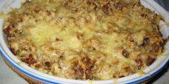 Zapiekanka makaronowa w mi�snym sosie