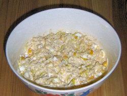 Sa�atka z ananasa i kukurydzy